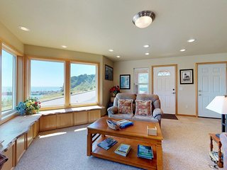 NEW LISTING! Ocean-view home w/unbeatable location, near port & beach access