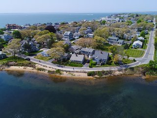 NEW LISTING! Waterfront home w/lake views-walk to Falmouth Heights Beaches
