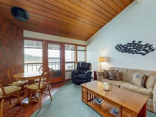 NEW LISTING! Waterfront condo by the beach-access available to pool, sauna & gym