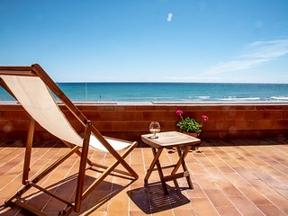 Precioso chalet con jardin privado en primera linea de la playa de la Mata