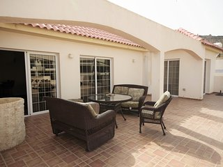 3 bedroom apt with huge balcony, 5' drive from the beach