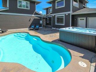 NEW LISTING! Beautiful lake view home w/private pool, hot tub & boat slip w/lift