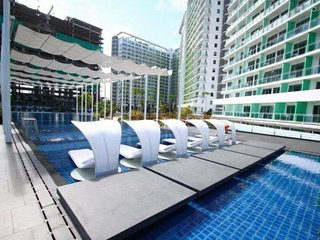 Fully Furnished Condo Unit Azure Urban Resort - Paris Hilton Beach Club
