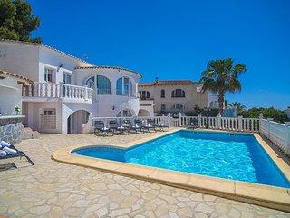 Villa Infinity en Benissa,Alicante,para 16 huespedes