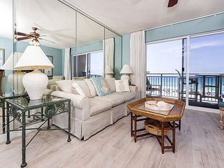 Pelican Isle 309: UPDATED FLOORING, Beautiful 4th floor, FREE BEACH SERVICE