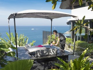 Luxury 4+1BR Oceanfront Designer Villa with Exceptional Chef in Kamala, Phuket