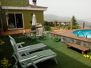 Casita de Bao. Beautiful rural villa with sea view in Icod de los Vinos.