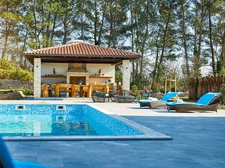 Luxury villa with sport court for rent, Istria