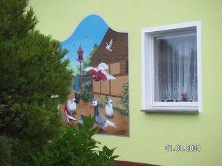 Ferien - und Monteurswohnung bei Vogelzüchtern