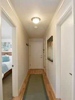 Corridor heading to the bedroom