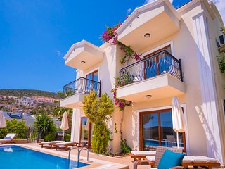 Villa Sakin:  3 ensuite bedrooms, private pool and roof terrace