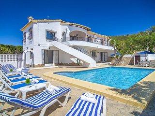 Villa Micambo en Benitachell,Alicante para 10 huespedes