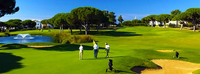 Several Golf Courses available in Vilamoura