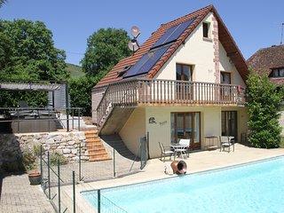 Gite  Louis  piscine et SPA  Rémy HEROLD