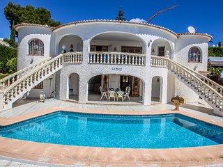 La Perla - sea view villa with private pool in Moraira