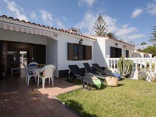 Acogedor y tranquilo bungalow con 2 terrazas + WiFi