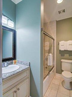 Four Private Bathrooms