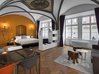Studio apartment in the center of Prague with Internet, Lift (987979)