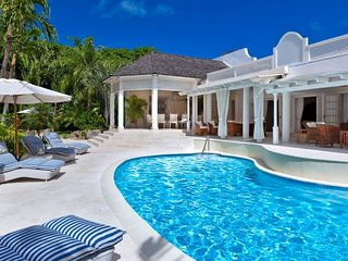 Villa Klairan  | Ocean View # Located in  Magnificent Sandy Lane with Private Po
