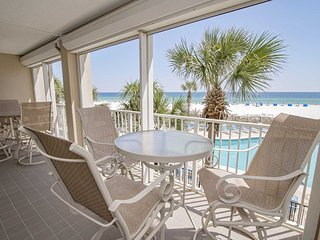 Fall Into A Vacation ~ Gulf Front ~ Bluewater 206 ~ Prickett Properties ~ Low Fl