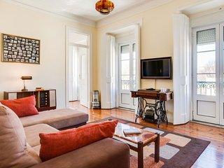 Fernando Pessoa apartment in Bairro Alto with WiFi.
