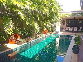 Tropical Paradise Villa - 3 bedroom, 3 bathrooms, Private Pool