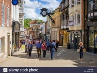 Winchester High Street has a number of new restaurants and cafes