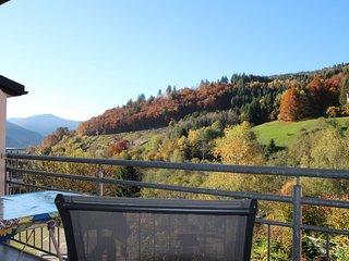 (#4) Romantische Ferienwohnung im Schwarzwaldstil mit Balkon und Berglick