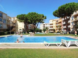 Apartamento de 1 habitación con terraza y 3 piscinas comunitaria