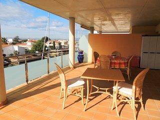 Apartamento con piscina en alquiler dos habitaciones en Roses - Cap Mestral 2