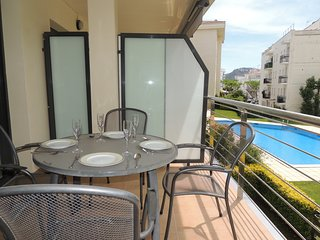 Apartamento en Residencia Mileni en Roses en alquiler-MIL2 211