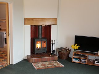 Relax in front of your woodburning stove. We have lots of homegrown waiting for you.