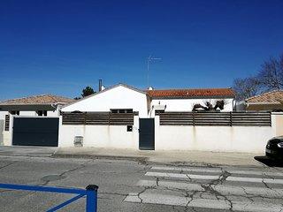 Agréable maison de plain pied en Gironde.