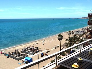 Stunning apartment on the beach in Torreblanca, Fuengirola