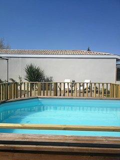 Agreable maison de plain pied en Gironde.