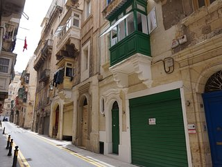 Central Valletta Townhouse with Maltese Balcony