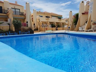 Apartment Mareverde with sea view, heated pool, balcony, only 300 m to the beach