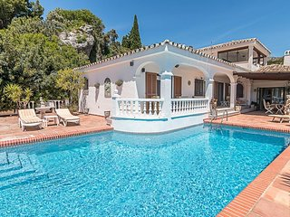 Detached Villa with Amazing Views and Private Pool in Mijas, Costs del Sol