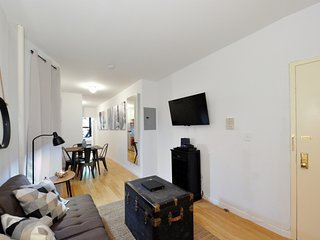 Upper East Side 2BR/2BA stunner near Central Park + Museum Mile. Location is A+