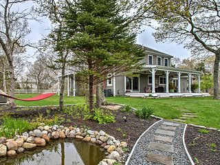 Quiet West Tisbury Home w/Hot Tub & Horse Paddock!