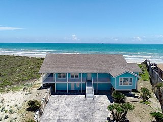 Spectacular Beach front home! 100 feet of unobstructed beach views! Sleeps 22