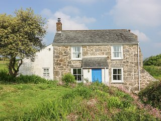 KITTS COTTAGE, woodburner, countryside views, remote location, near Redruth