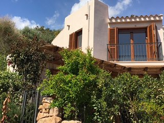 Detached villa near Chia, Domus de Maria, Sardinia. Private garden and sea views