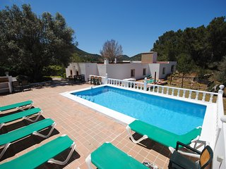 Can Rafalet, San Jose, Ibiza - 5 bedrooms/4 bathrooms, Private Pool, Sea Views