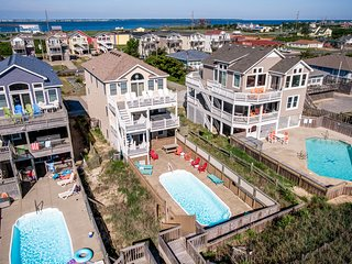 SunFish | Oceanfront | Private Pool, Hot Tub | Nags Head