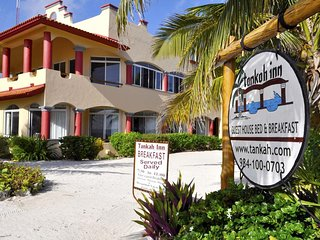 Tankah Inn - Coba Room, A Real Bed&Breakfast on Beach in Mexico's Riviera Maya.