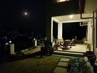 Basking in moonlight