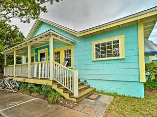 NEW! Historic Morehead City 'Mermaid Cottage'!