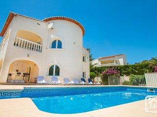 5 bedroom Villa in Benissa, Valencia, Spain : ref 5401557