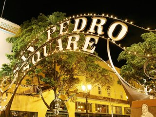 309-LG. Studio Center of San Pedro Sq. San Jose!